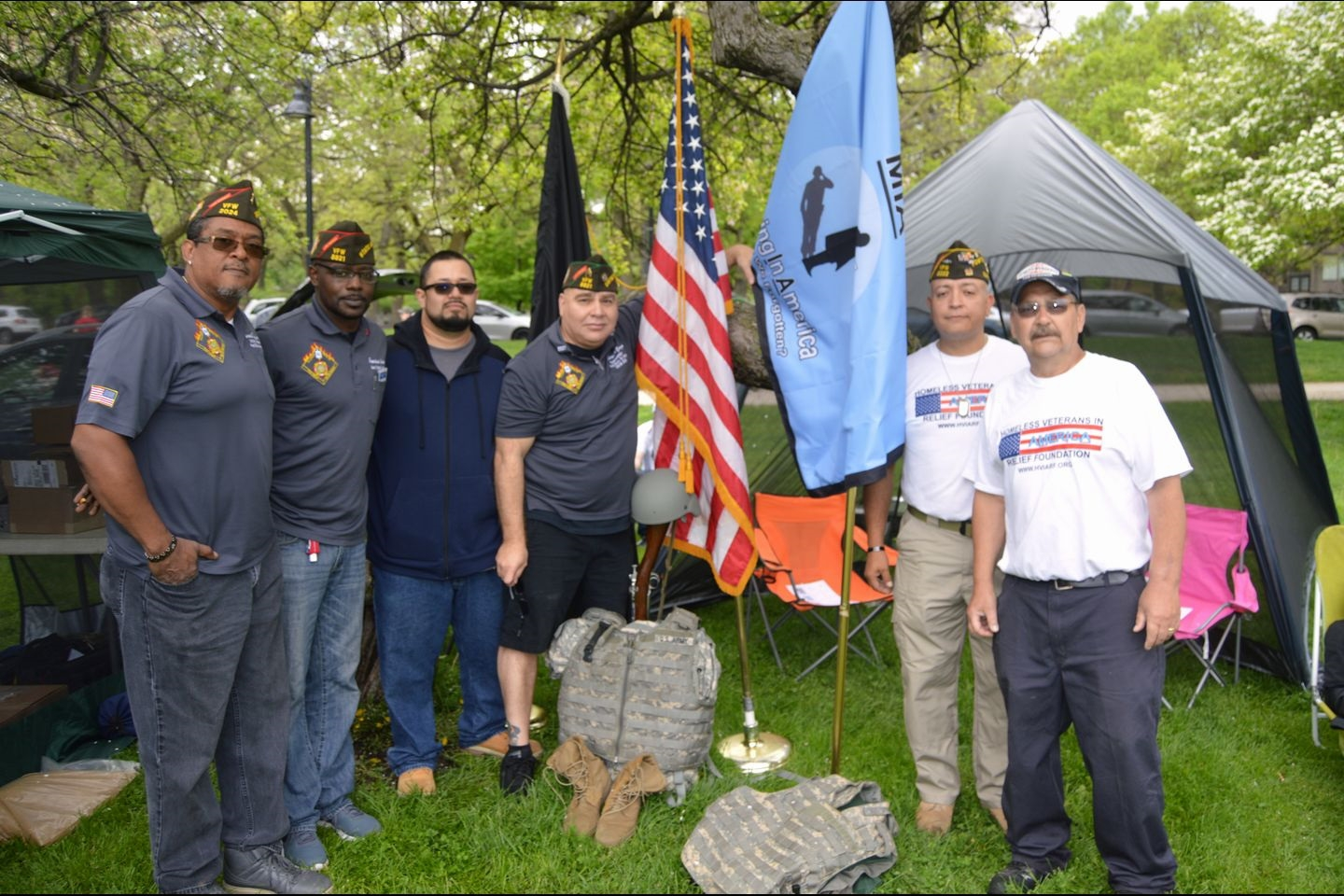 Team VFW Illinois at Ruck March