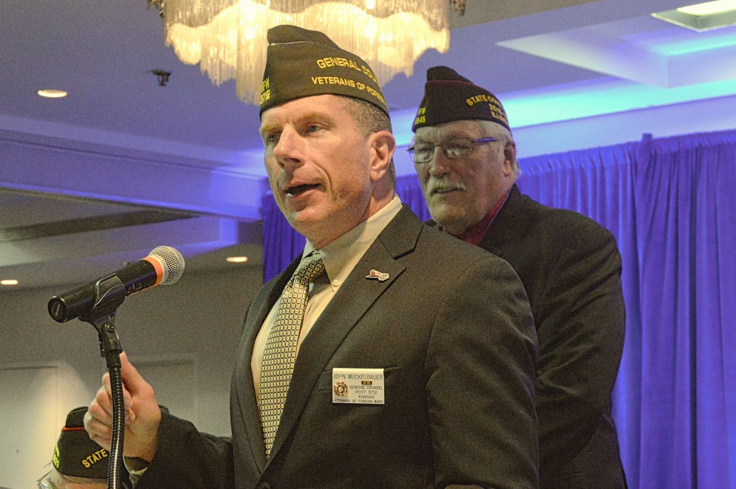 John Conner, VFW National, General Counsel, featured guest at VFW Illinois 98th Department Conventio